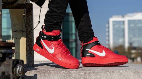The Force of the Utility - Nike Air Force 1 MID Utility Red